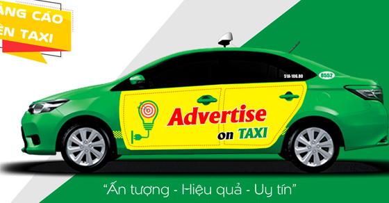Báo giá quảng cáo trên taxi Mai Linh