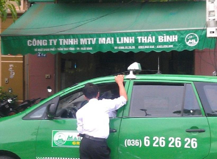 Quảng cáo trên taxi tại Thái Bình giúp lan tỏa thương hiệu