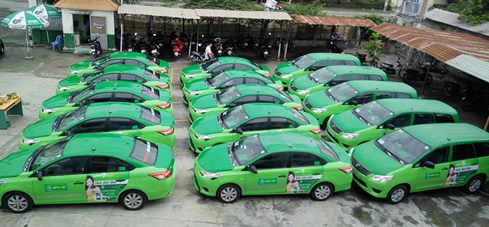 Quảng cáo trên taxi Mai Linh để lan tỏa thương hiệu