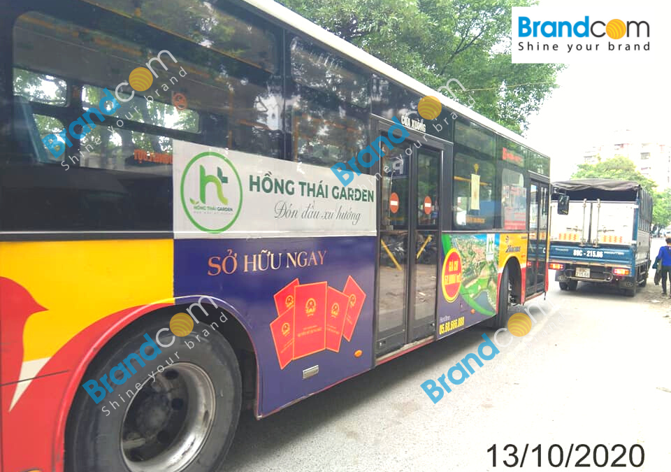Xu hướng quảng cáo trên xe bus trong năm 2021