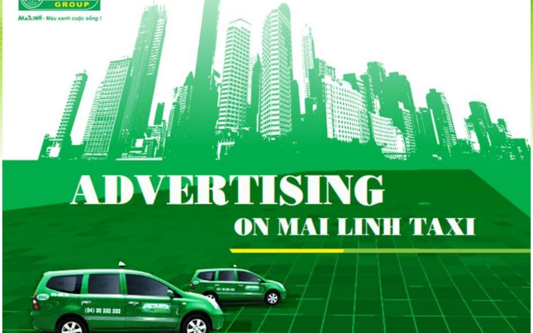 Báo giá quảng cáo trên taxi Mai Linh mới nhất