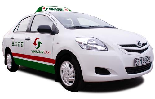 Báo giá quảng cáo trên taxi Vinasun mới nhất